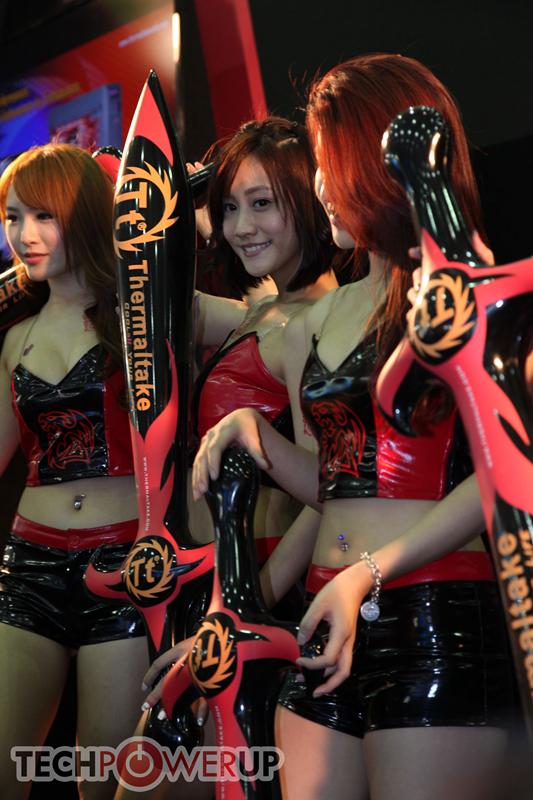 台北电脑展又一大波妹子来袭 130张ShowGirl美图一网打尽的照片 - 86