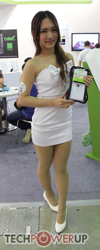 台北电脑展又一大波妹子来袭 130张ShowGirl美图一网打尽的照片 - 104
