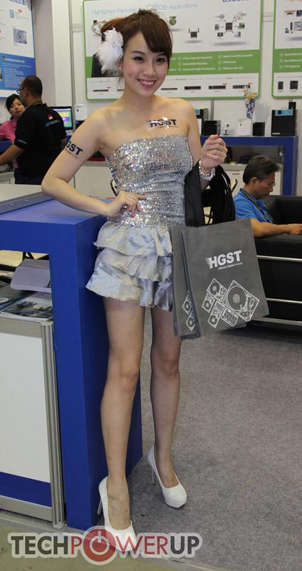 台北电脑展又一大波妹子来袭 130张ShowGirl美图一网打尽的照片 - 120