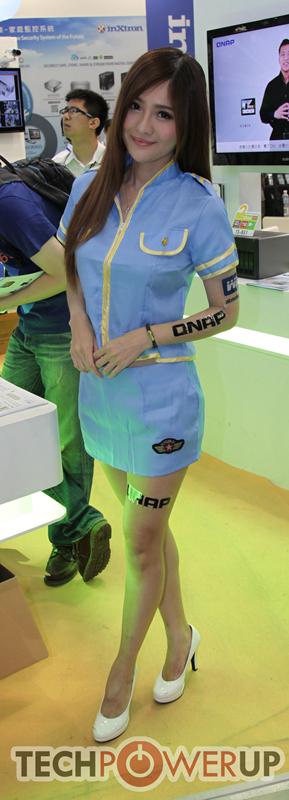 台北电脑展又一大波妹子来袭 130张ShowGirl美图一网打尽的照片 - 20
