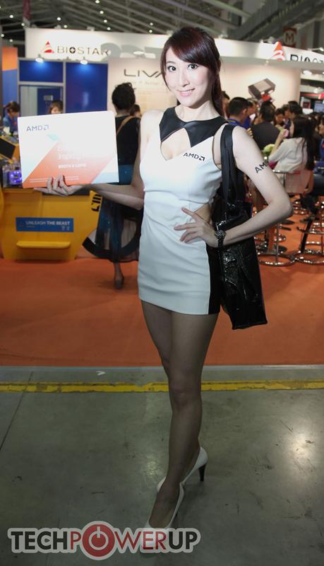 台北电脑展又一大波妹子来袭 130张ShowGirl美图一网打尽的照片 - 35