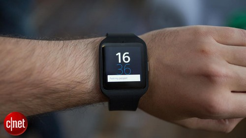 索尼SmartWatch 3智能手表体验图赏