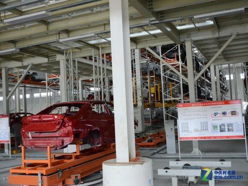布局新能源汽车 参观比亚迪西安二厂