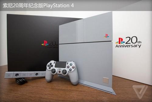 索粉福利!20周年纪念版PS4主机开箱
