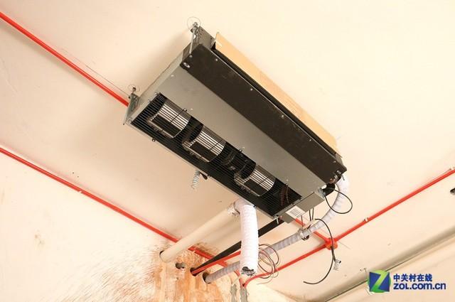 暗藏式设计 三菱重工中央空调安装图解