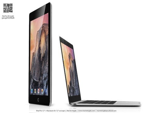 超美12吋!iPad Pro对比MacBook谁更薄