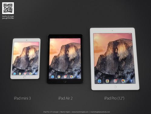 就是这么美 12英寸iPad Pro概念图赏