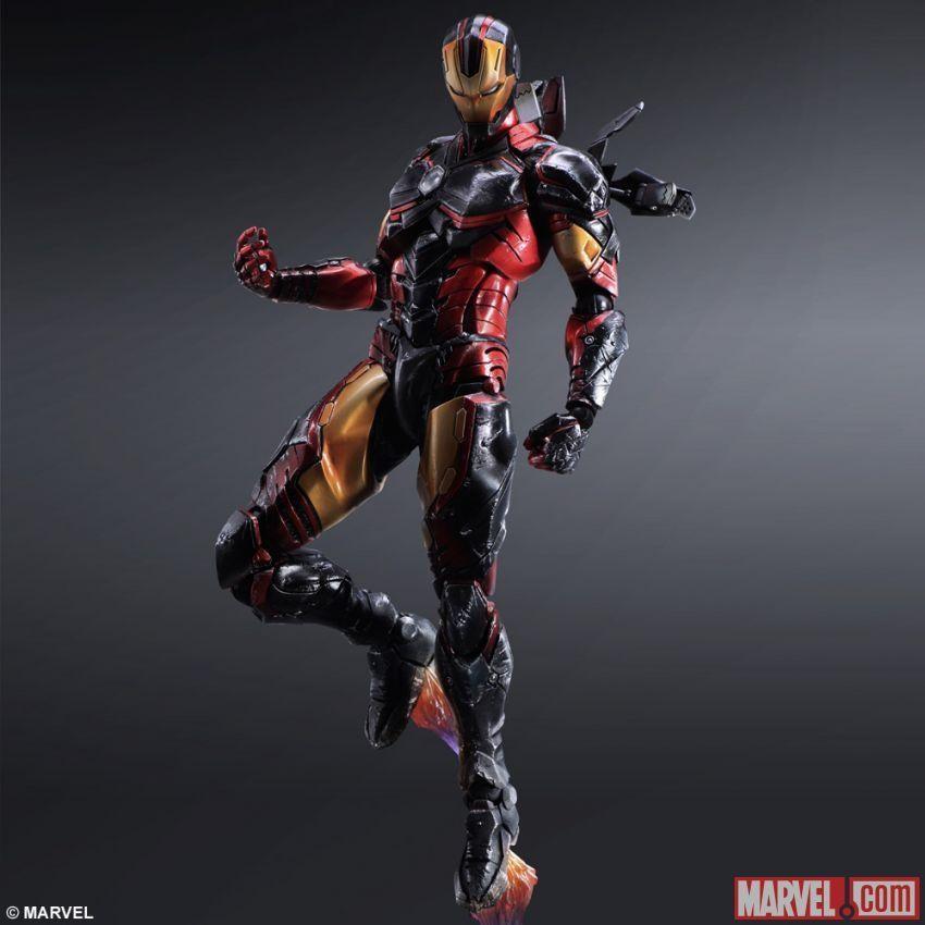 如果se来设计钢铁侠 那会是什么样子?图片