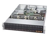 超微 2028U-TNR4T+ CPU类型:Intel XEON 2600 v3