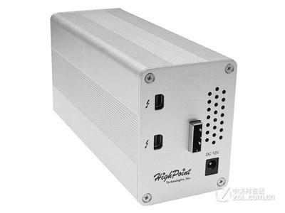火箭(HighPoint) RR6324L雷电2(Thunderbolt2)RAID卡控制器雷电存储