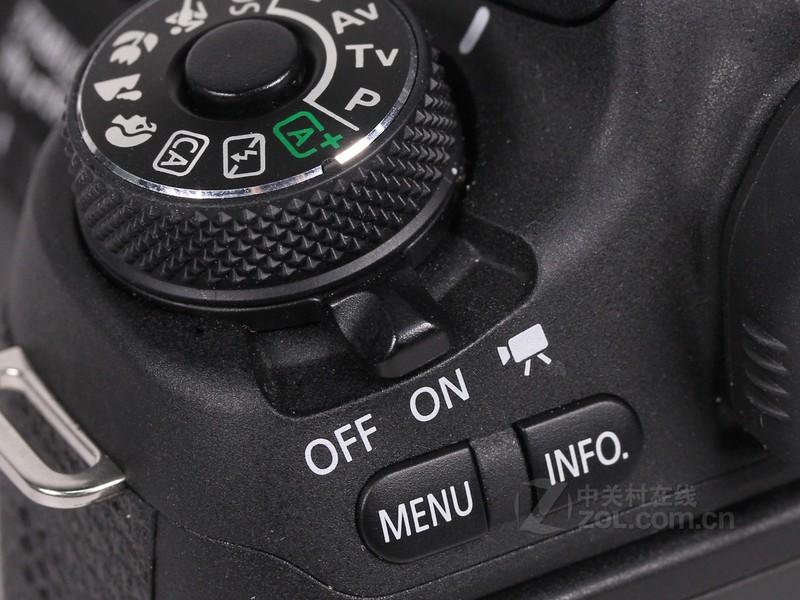 【高清图】佳能(canon)760d套机(18-135mm)电源按钮