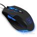 豹勒S3(Boblen) 电脑有线专业游戏鼠标 LOL/CF笔记本电竞光电鼠标无声网吧鼠标 6D终极版 磨砂黑-无声