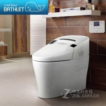 安装洗衣机和马桶一体机示意图