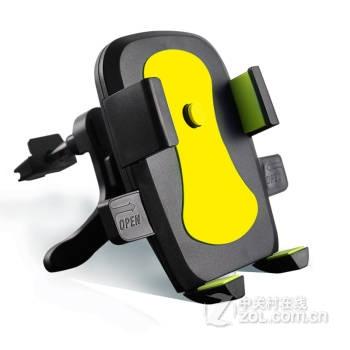 汽车手机座出风口手机支架伸缩手机架可拆开吸盘出风