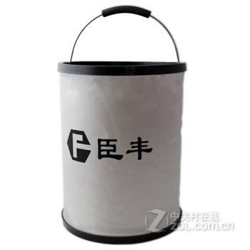 折叠水桶13l 汽车用品户外加厚伸缩便携车载洗车工具