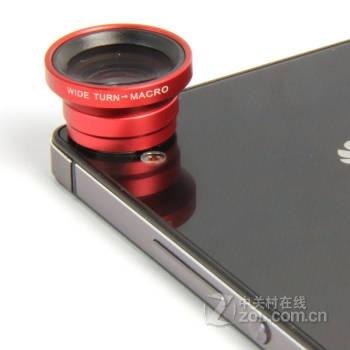 手机外置镜头外接广角微距镜头