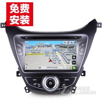 众宏现代朗动名图ix25ix35新悦动瑞纳dvd导航倒车影像gps导航仪电子狗