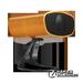 德古(DOMIGO)智能音响无线WiFi音箱家庭2.0声道纯手工木质HIFI音质 黄橡木