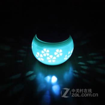 【高清图】 奥智捷(agenius)太阳能led灯小夜灯迎宾灯 相思鸟 图1