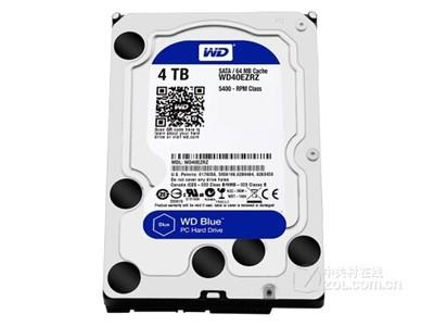 西部数据 蓝盘4TB SATA6Gb/s 64M(WD40EZRZ)