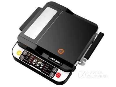 利仁 LR-D4000电饼铛悬浮上下盘加热方形煎烤机**联保现货