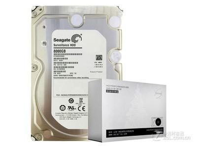 希捷 8TB 3.5寸监控级硬盘(ST8000VX0002)