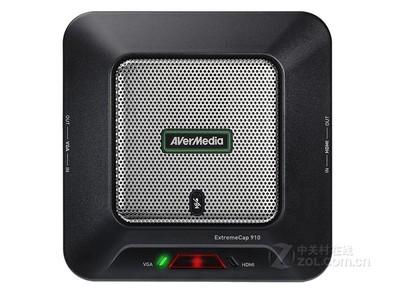 圆刚影音高手CV910 hdmi vga高清采集卡1080p教育视频会议录制盒