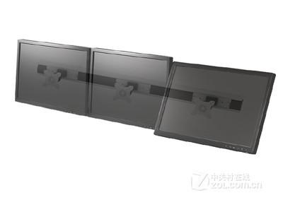 TOPSKYS 三屏拼接液晶显示器支架广告展示挂架VC831