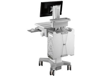 TOPSKYS 单屏显示器支架医疗移动推车医用工作台护理车CNH01