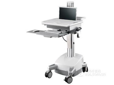 TOPSKY 单屏笔记本电脑一体机支架医疗移动推车医用电动护理车CAN01