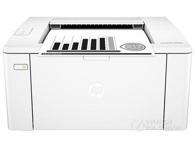 黑白激光打印机 HP M104w广东售1099元