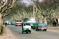 全是记忆 1980年中国5大城市的彩色照片