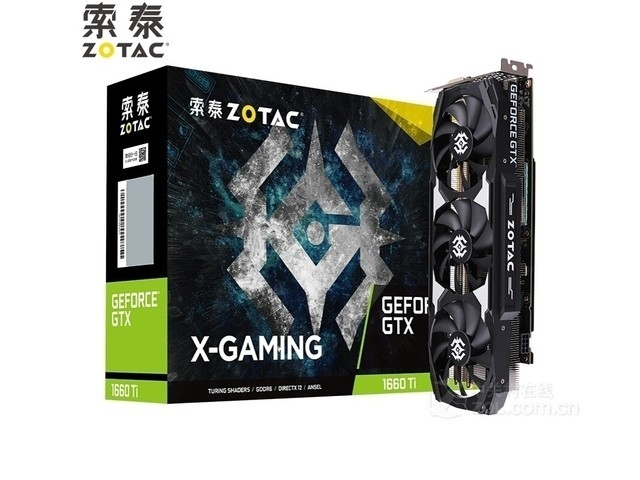 GTX1660super-6GD6 X-Gaming OC售1799