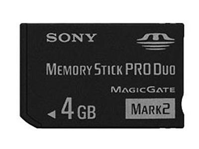 【限时抢购】皇冠信誉 批发价格 原装正品 索尼 Memory Stick PRO Duo Mark2(4GB)