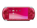 外形时尚 索尼PSP3000全新机艳光红940元