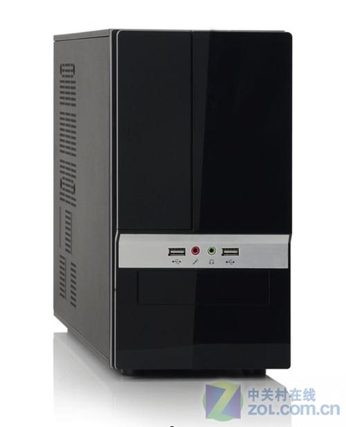 黑色外观 富士康 TXM-754迷你机箱解析