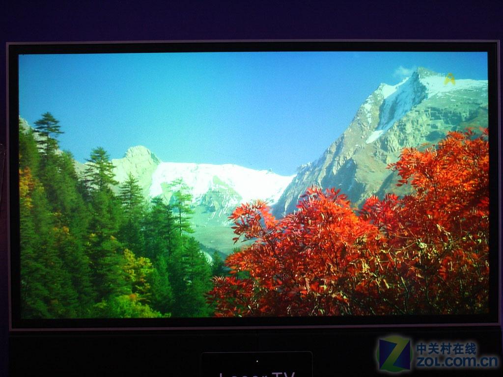 【高清图】 投影展:激光电视机画面实拍(多图)图4