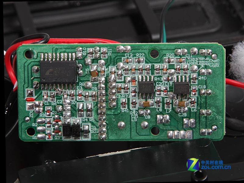 usb声卡 无源辐射 笔记本音箱内部揭秘图片欣赏,图5-zol中关村在线第5