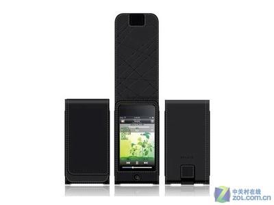 贝尔金 iPod Touch翻盖牛皮套F8Z528qe