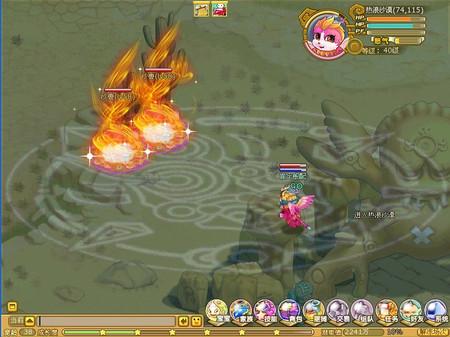 《妖怪A梦》特炫战斗效果 让PK更有乐趣