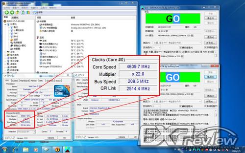 集显U会限制超频么?酷睿i3-530超频实测
