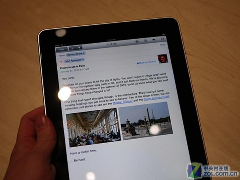 【高清图】苹果(apple)ipad(32gb/wifi版)效果图