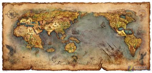 《神魔大陆》游戏地图
