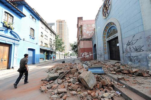 高清大图直击智利大地震