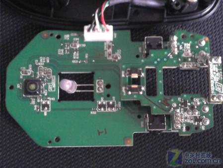 微软comfort mouse 4500鼠标电路板反面