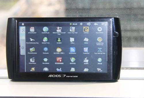 爱可视ARCHOS 7 家庭平板电脑谍照曝光