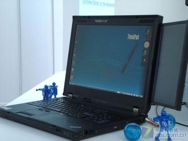 idf2010:thinkpadw701ds双屏本展示(3/4)