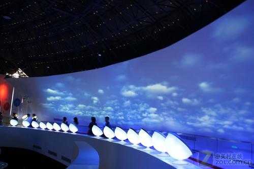 我做天气预报员 三菱世博馆一日游记图片
