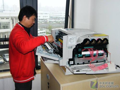 世博绿色打印 联想打印机世博应用展示