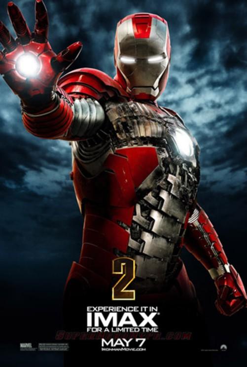 好莱坞科幻大片推荐_好莱坞科幻动作大片《钢铁侠2》海报